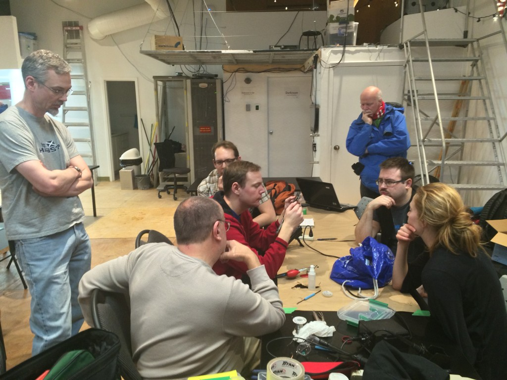 Collaboration at HackLab